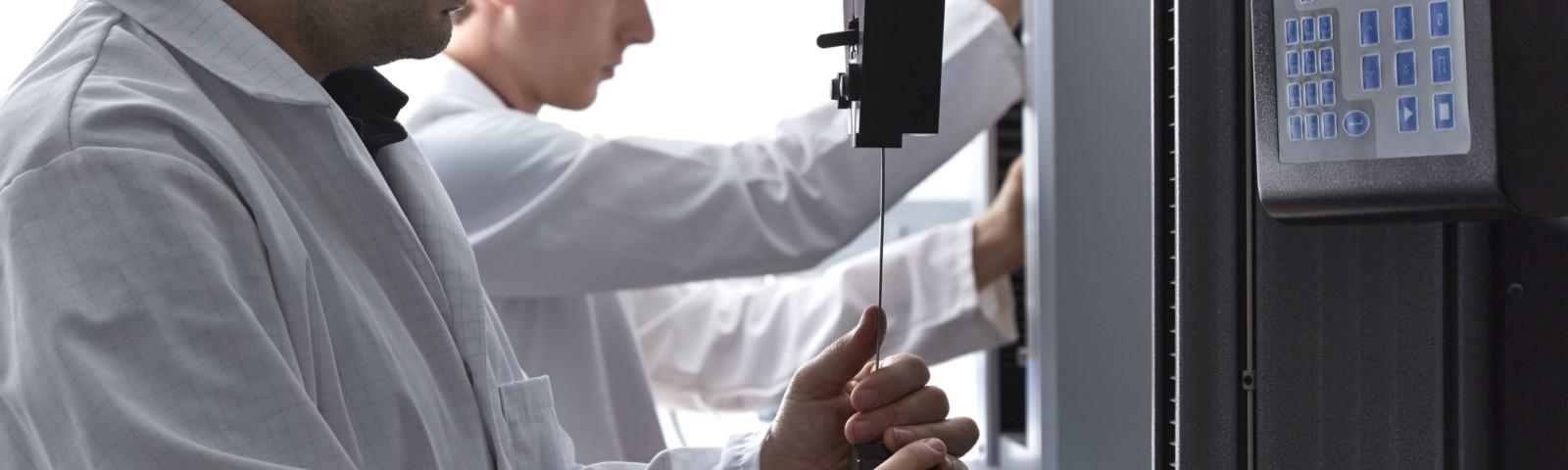 Testing Lab Header