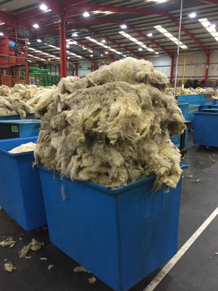 Wool Factory Close Up