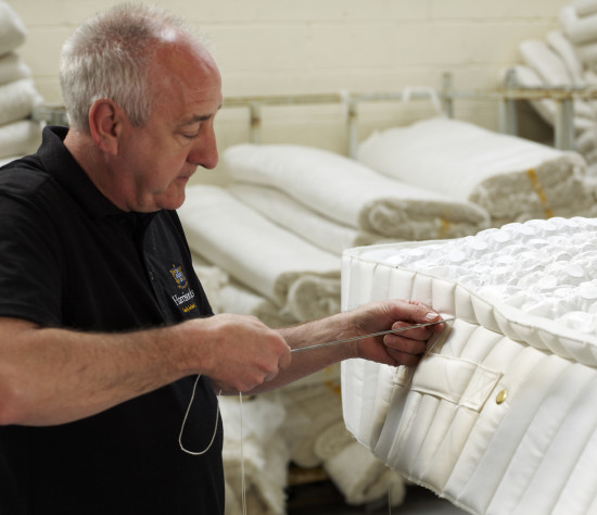 Mattresses Are Traditionally Side Stitched To Hold The Springs In Place