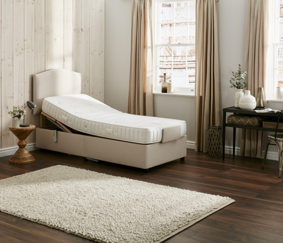 Single Beige Bedding 05 1