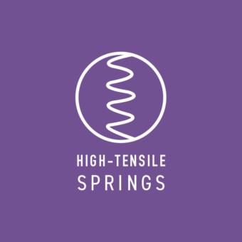 High tensile springs