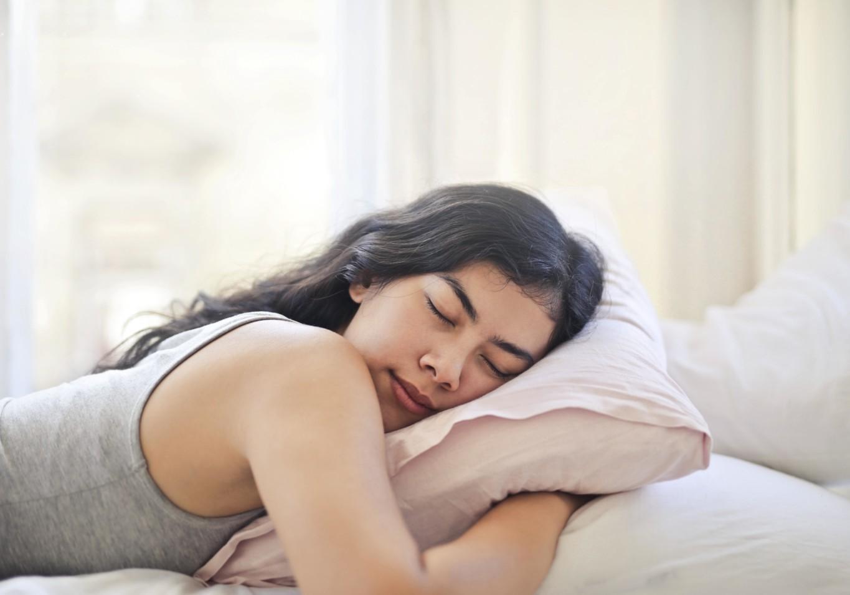 Sleeping Habits Woman Sleeping