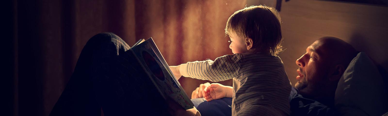 Kid Reading Book