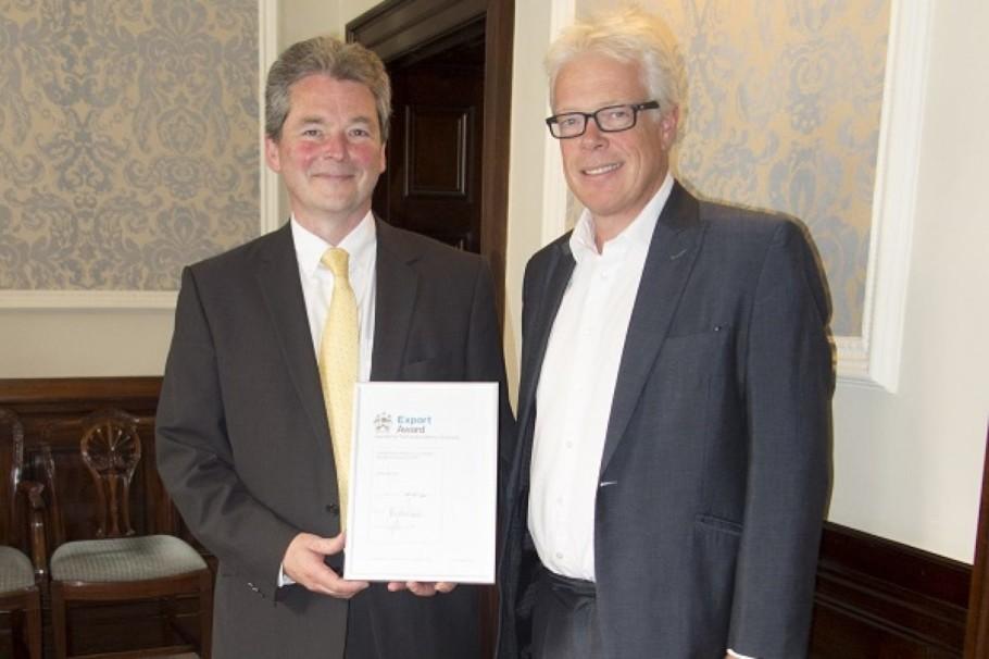 Ian Owen European Sales Manager At Spinks Springs And Ben Burbidge Manufacturing Guild Mark Chairman 1200X799