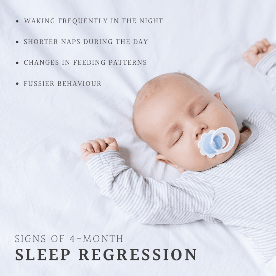 Signs of 4 month regression