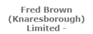 Fred Brown Ltd